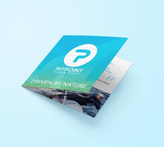 PitPoint Folder ontwerpen