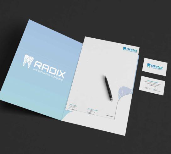 Huisstijl ontwerpen Radix