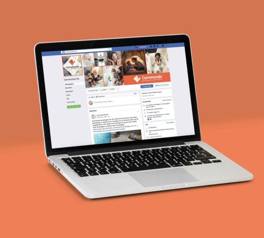 Facebookpagina-website-carromundo