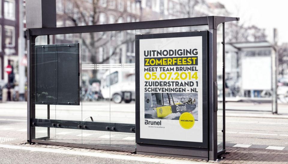 Affiche ontwerpen Mechelen Brunel
