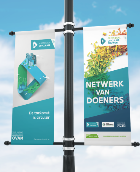 Roll up banner OVAM